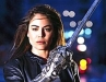 Yancy Butler Witchblade Photo with Gauntlent